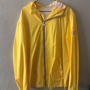 Hunter For Target yellow rain jacket